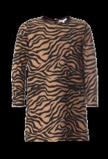 Kocca Kocca DRESS FANT.BLACKCAMELLIERO F0041