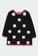 Boboli Boboli Knitwear dress polka dot for girl BLACK 721235