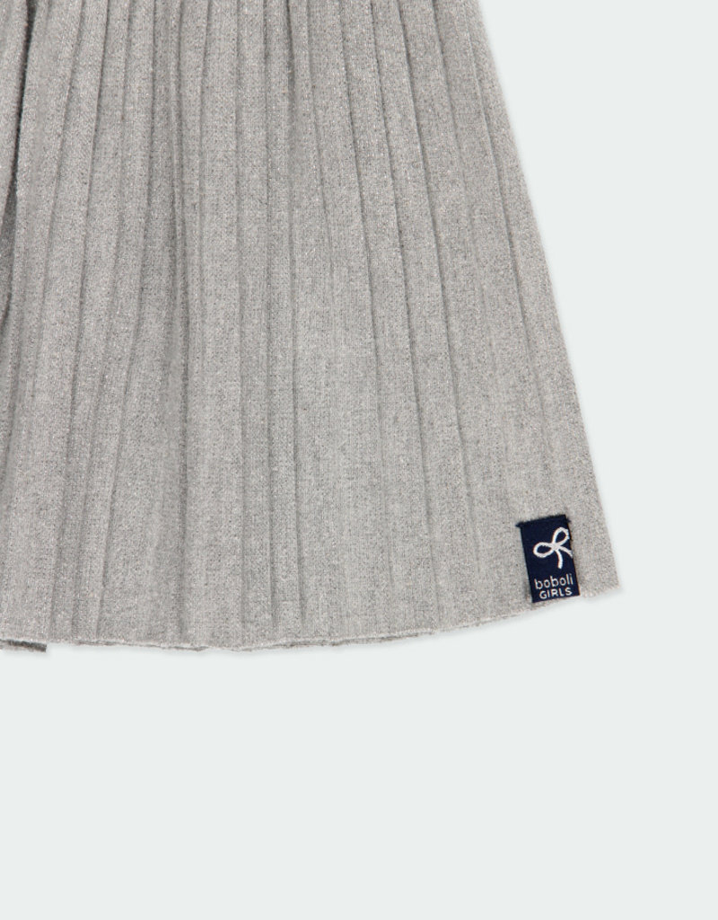 Boboli Boboli Knit skirt for girl grey 401049