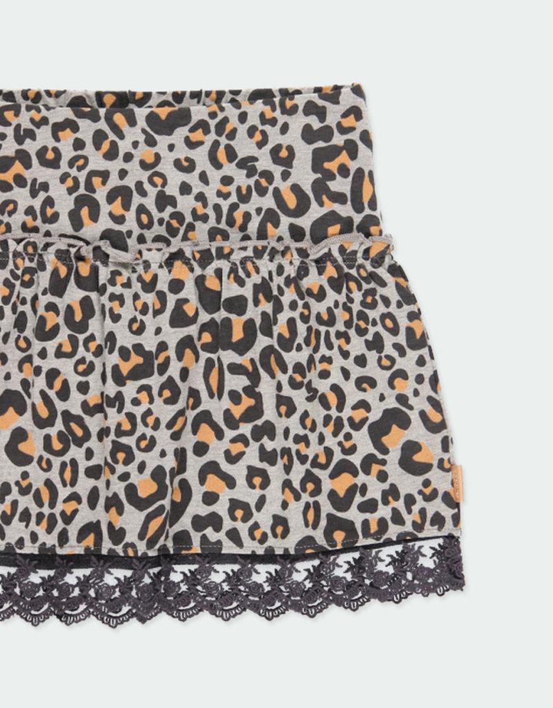 Boboli Boboli Fleece skirt for girl print 441076