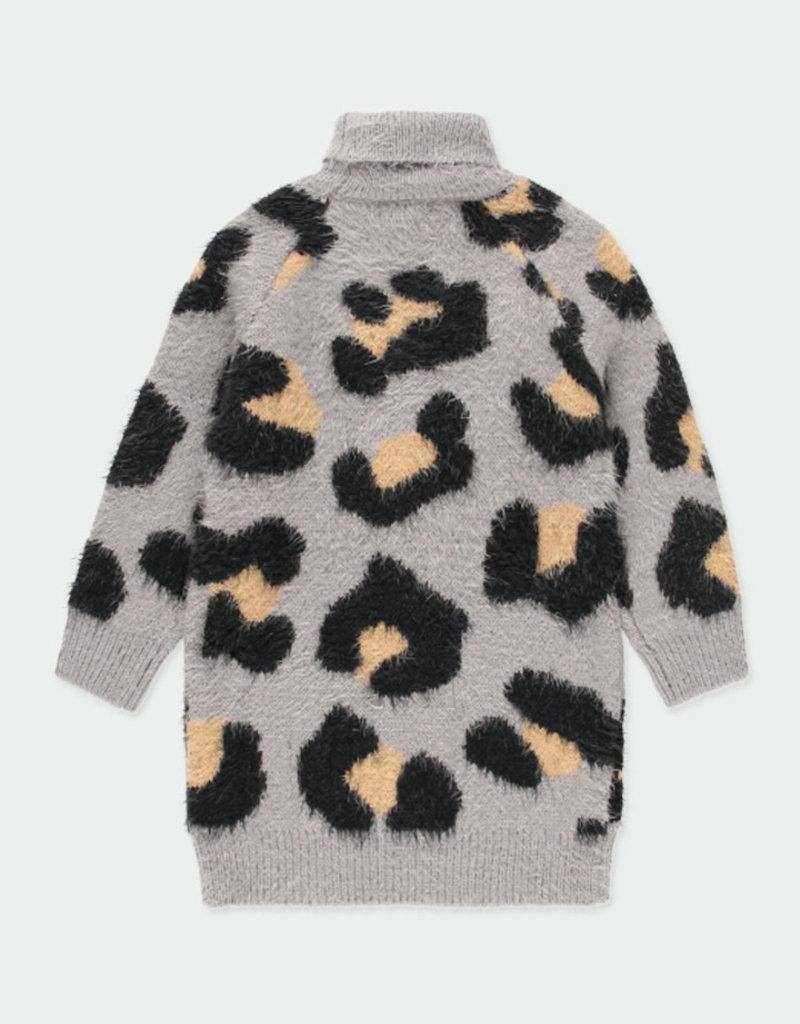 Boboli Boboli Knitwear dress for girl grey 441098