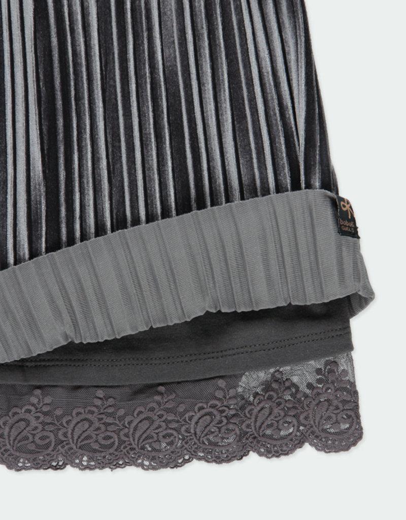 Boboli Boboli Skirt for girl anthracite 461045