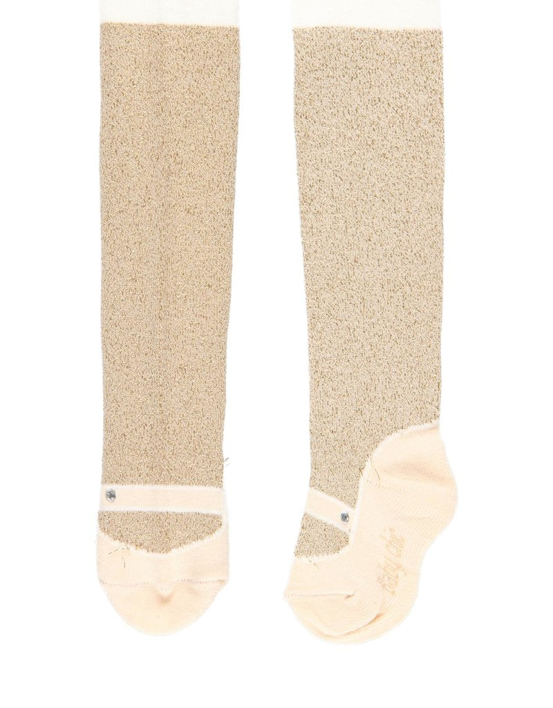 Boboli Boboli Thick tights for baby girl SAND 701187