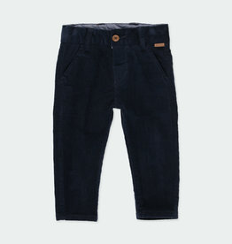 Boboli Boboli Microcorduroy trousers stretch for baby boy NAVY 711245