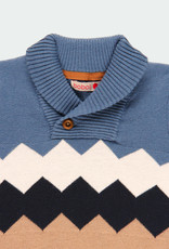 Boboli Boboli Knitwear pullover diamonds for baby boy artic 711267