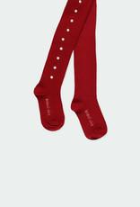 Boboli Boboli Thick tights for girl berry 721156