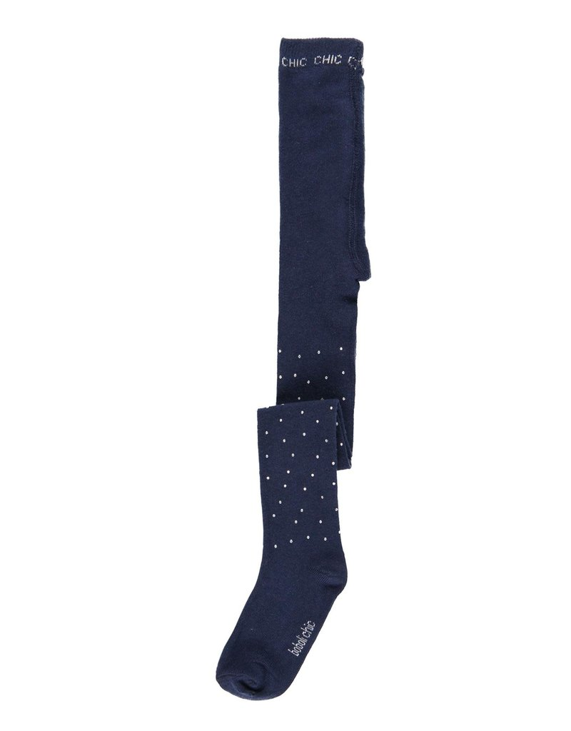 Boboli Boboli Thick tights crystals for girl NAVY 721381