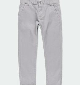 Boboli Boboli Stretch satin trousers for boy fog 731078