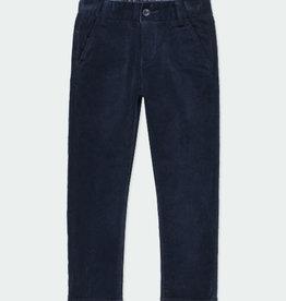 Boboli Boboli Microcorduroy trousers stretch for boy NAVY 731315
