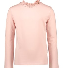 Le Chic Le Chic T-shirt with smock collar C008-5405 French Rose