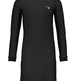 Le Chic Le Chic dress bodycon pinstripe H008-3800 Black