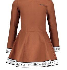 Le Chic Le Chic dress sporty chic H008-3811 Cinnamon