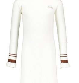 Le Chic Le Chic dress ultimate stretch knit H008-3818 Off White