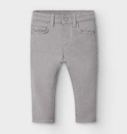 Mayoral Mayoral 5 pocket slim fit basic pant Atmosphere - 20 00563
