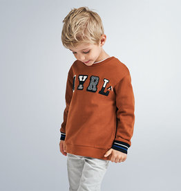 Mayoral Mayoral Pullover without hoodie Rust - 20 04464