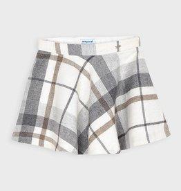 Mayoral Mayoral plaid lurex skirt Chromium - 20 04952