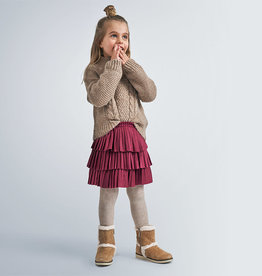 Mayoral Mayoral Pleated skirt Cherry - 20 04958