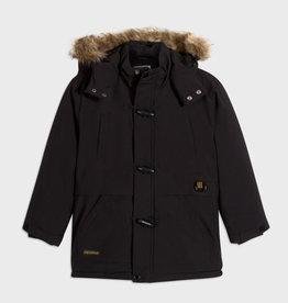 Mayoral Mayoral Coat with fur hood Black - 20 07473