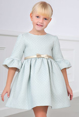 Abel & Lula Abel & Luna Jacquard dress Lightblue - 20 05552