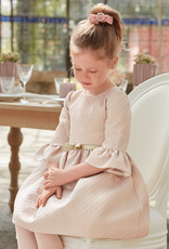 Abel & Lula Abel & Luna Jacquard dress Rose - 20 05552