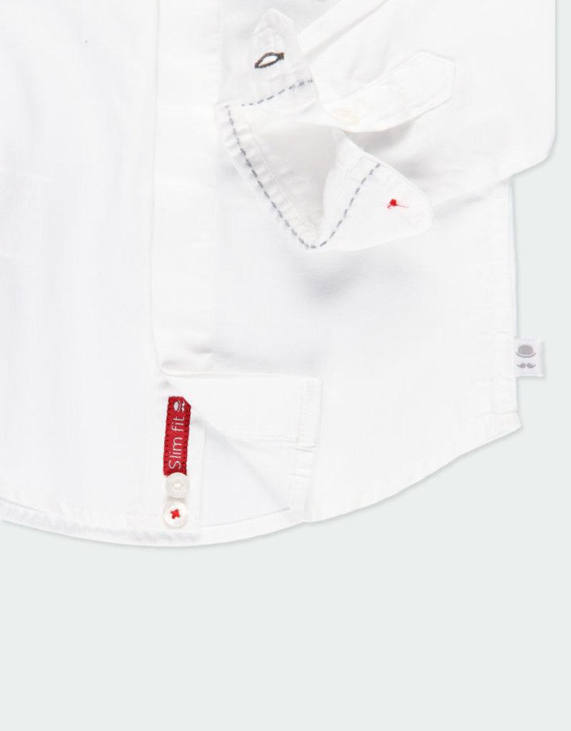 Boboli Boboli Shirt fantasy for baby checks 711010