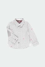 Boboli Boboli Poplin shirt cars for baby boy print 711021