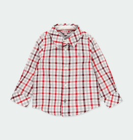 Boboli Boboli Poplin shirt check for baby boy checks 711009