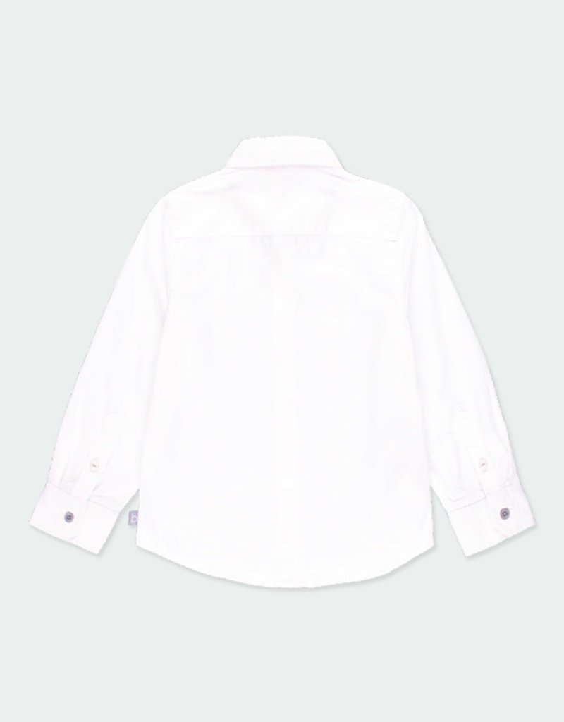 Boboli Boboli Long sleeves shirt for boy WHITE 731012