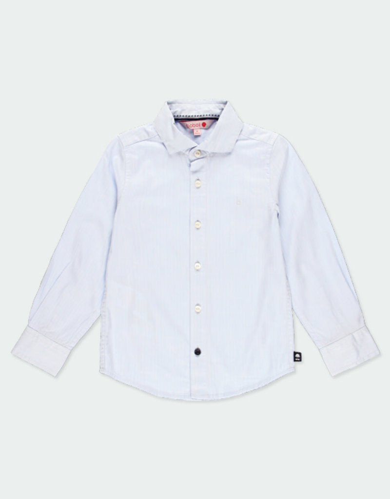 Boboli Boboli Long sleeves shirt for boy baltic 731012