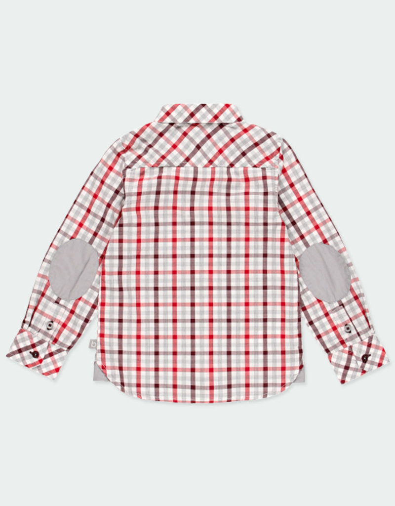 Boboli Boboli Poplin shirt check for boy checks 731034