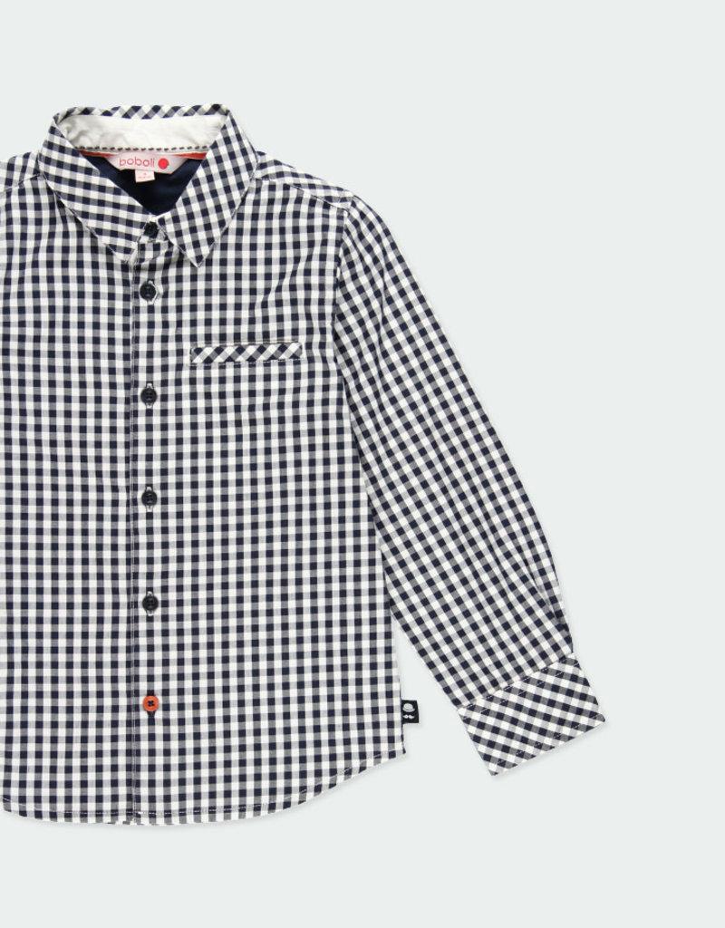 Boboli Boboli Poplin shirt check for boy checks 731371