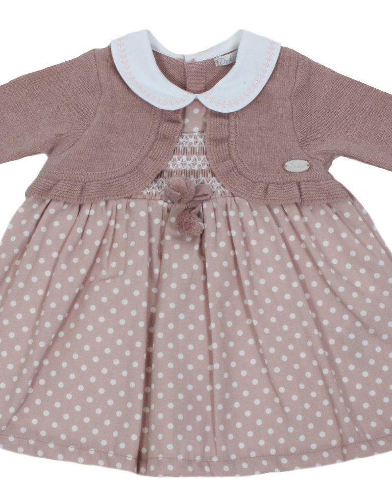 Dr Kid Dr Kid Dress (Newborn) 246-Rosa Velho-DK104