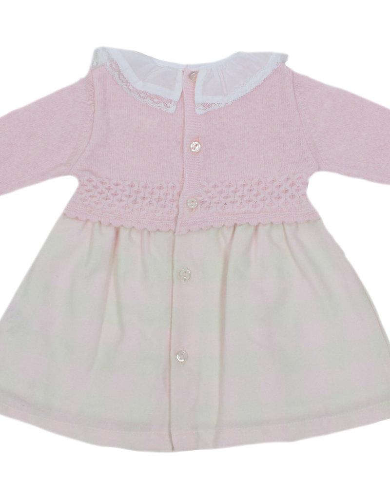 Dr Kid Dr Kid Dress (Newborn) 252-Rosa Bebé-DK122