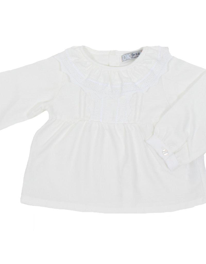 Dr Kid Dr Kid Baby Girl Blouse 000-Branco-DK332