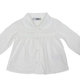 Dr Kid Dr Kid Baby Girl Blouse 000-Branco-DK337