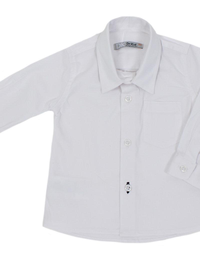 Dr Kid Dr Kid Baby Boy Shirt 000-Branco-DK593