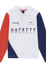 Hackett Hackett AMR CONT SD PN SS Y WHITE