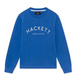 Hackett Hackett LOGO CREW Y BRIGHT BLUE
