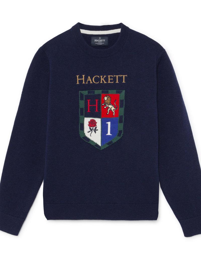 Hackett Hackett SHIELD CREW Y NAVY