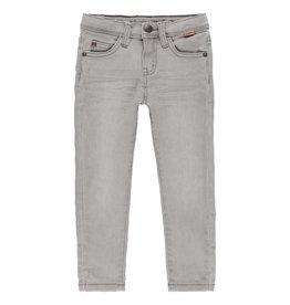 Boboli Boboli Denim stretch trousers for boy GREY 590048