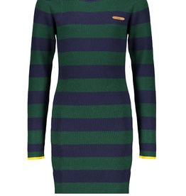 Nobell Nobell Mara ribknit striped dress Q008-3803 Wood