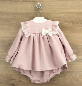 Babidu Babidu GRANADA DRESS W/DIAPER COVER PINK-90303