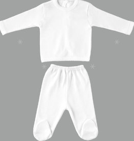 Babidu Babidu NEWBORN SET WHITE-5112