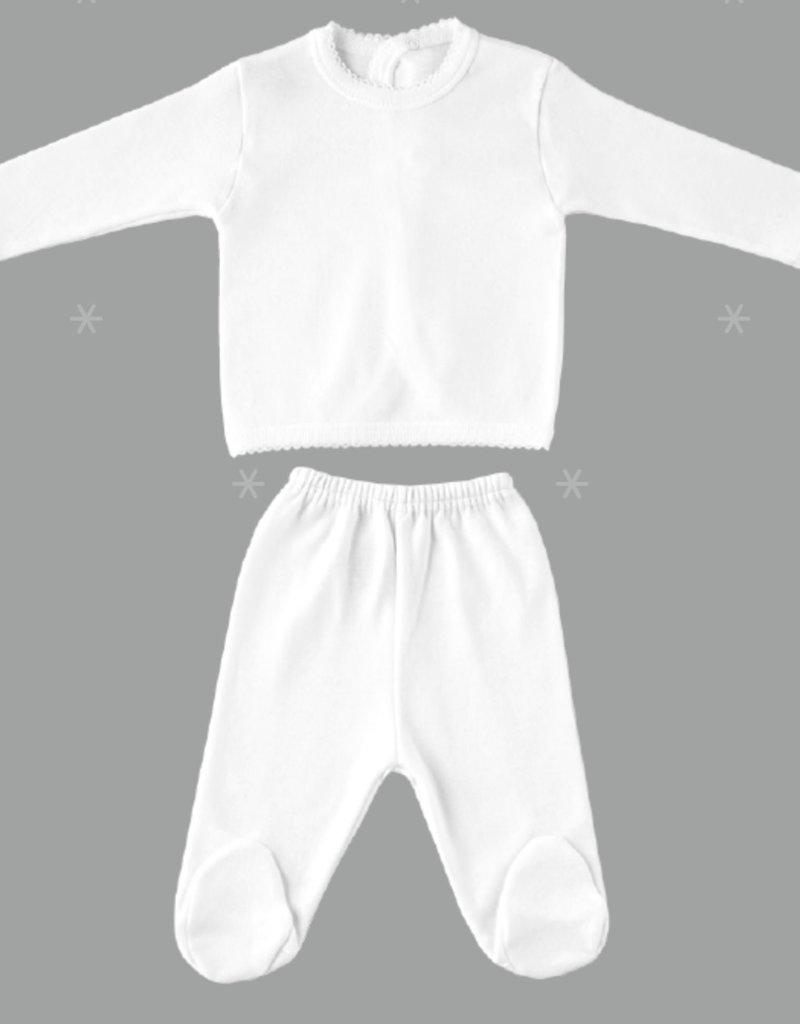 Babidu Babidu NEWBORN SET WHITE-5112 50/56