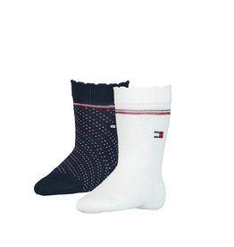 Tommy Hilfiger Tommy Hilfiger 2 paar  sokje donkerblauw/off white
