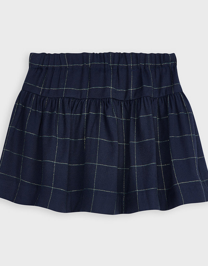 Mayoral Mayoral Checked skirt for girl blue