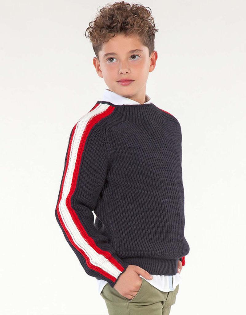 Mayoral Mayoral  Jumper with side stripes for boy
