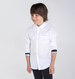 Mayoral Mayoral  Long sleeved contrasts shirt for boy