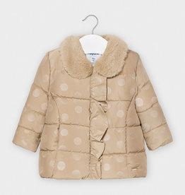 Mayoral Mayoral Polk dots jacket Beige - 20 02410