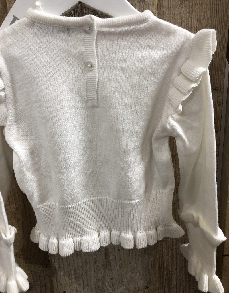 Dr Kid Dr Kid Girl Sweater 000-Branco-DK465
